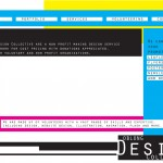 Screenshot of the old Oblong Design Collective home page