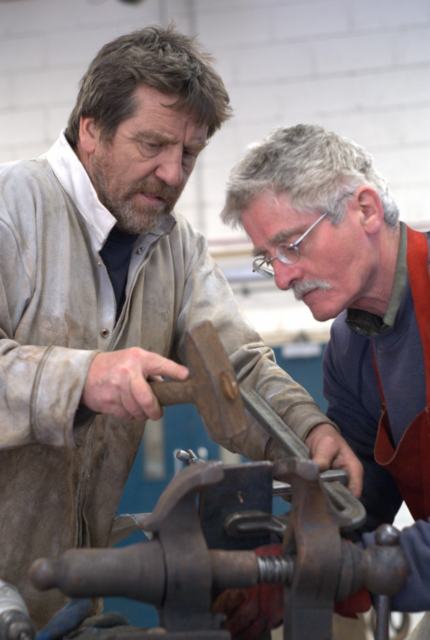 Hot and cold metal art event at Yorkshire Sculpture Park