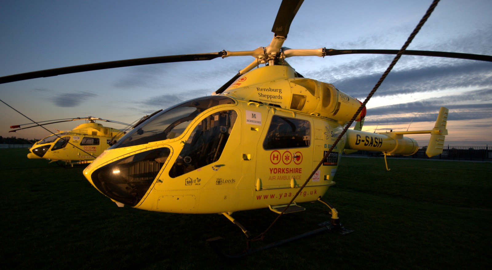 yorkshire air ambulance helicopter 3 event photography