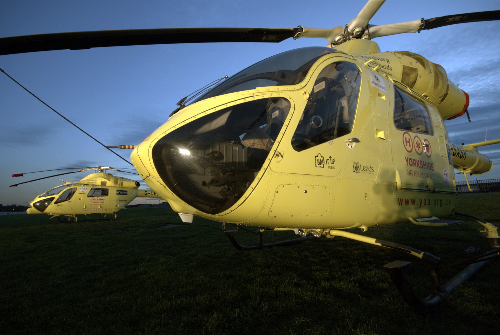 yorkshire air ambulance helicopter event photography