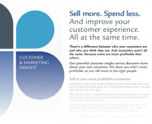 kokino-marvo's customer insight leaflet