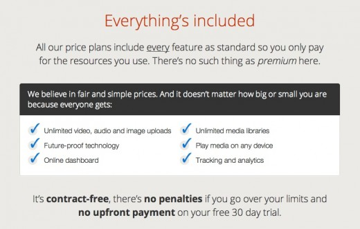 Kensei Media pricing page