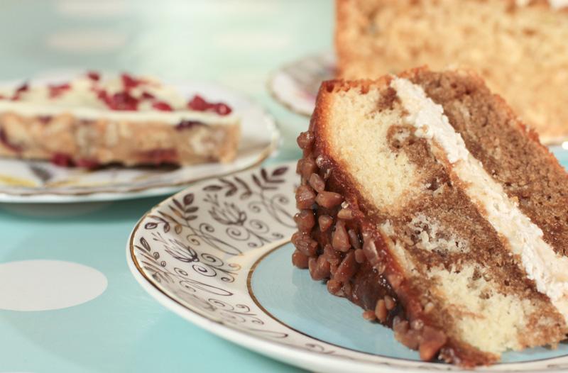Cakes at Strid wood tea room