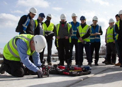 Freelance photography for Wates Born to Build event in Leeds