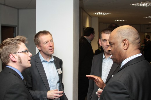 Event photography in Leeds for the Yorkshire Enterprise Foundation