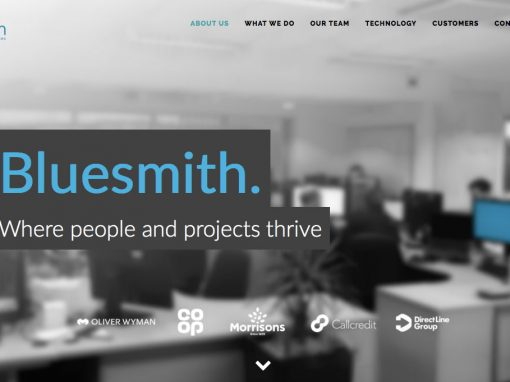 Where people & projects thrive: Bluesmith TOV